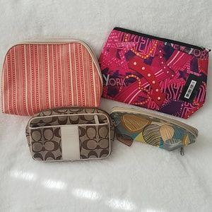Bundle makeup/ cosmetic cases